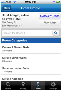Room 77 Hotel Profile Page