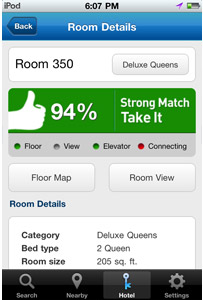 Room 77 App - Strong Match