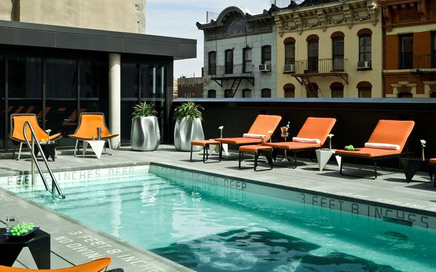 Enjoy a summer cool down with the top 10 hottest hotel for Rooftop swimming pool